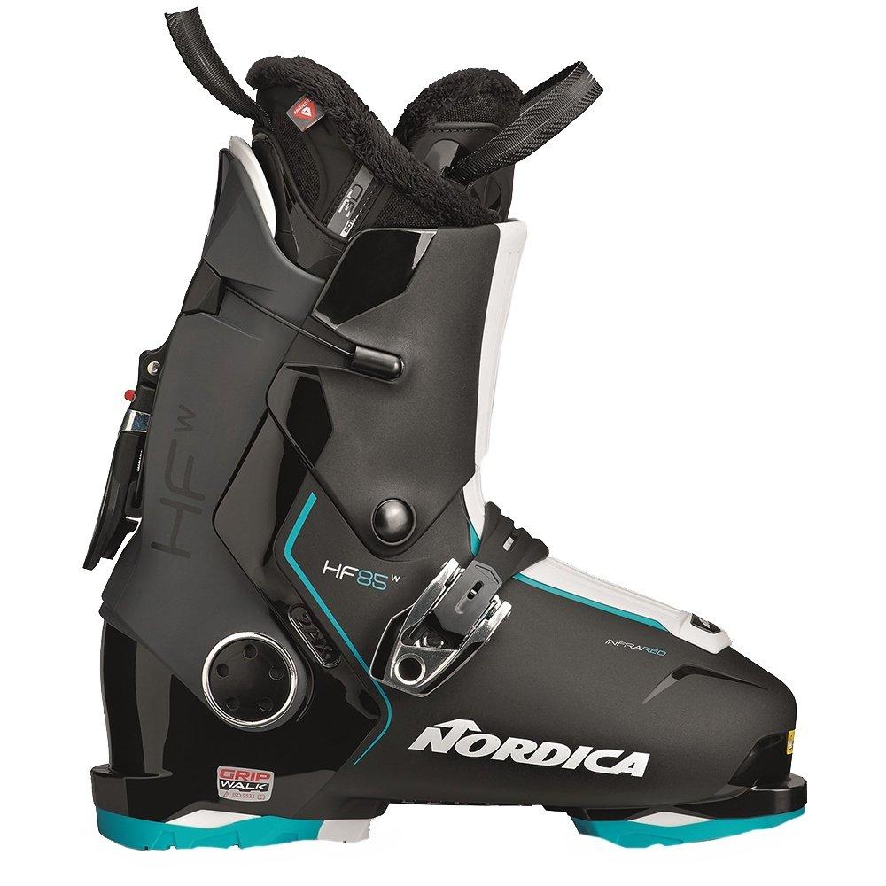 Nordica HF 85 Ski Boots (Women's) - Black/Blue/White