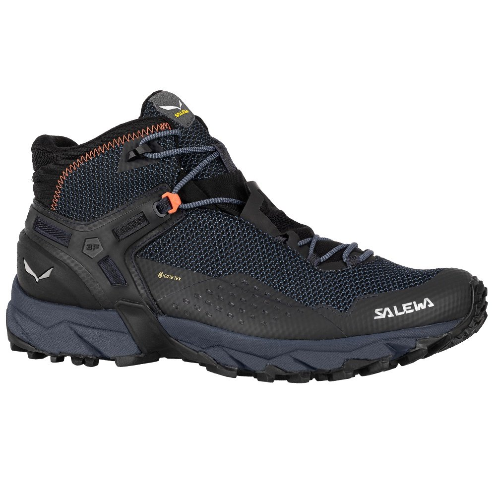 Salewa Ultra Flex 2 Mid GORE-TEX Hiking Boot (Men's) - Blackout