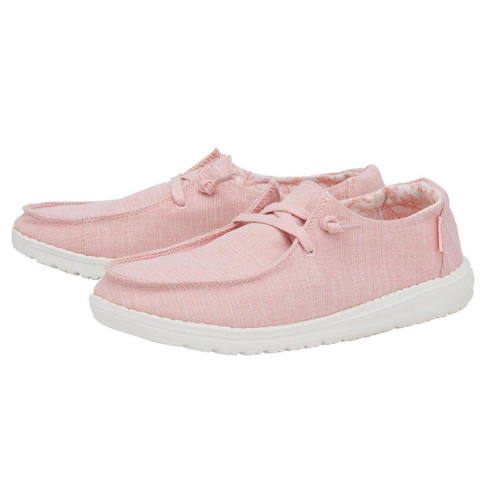 Hey Dude Wendy Linen Shoe (Women's) - Pink
