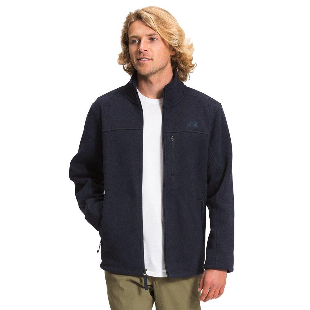 The North Face Gordon Lyons Classic Full-Zip Fleece Jacket (Men's) - Aviator Navy Dark Heather