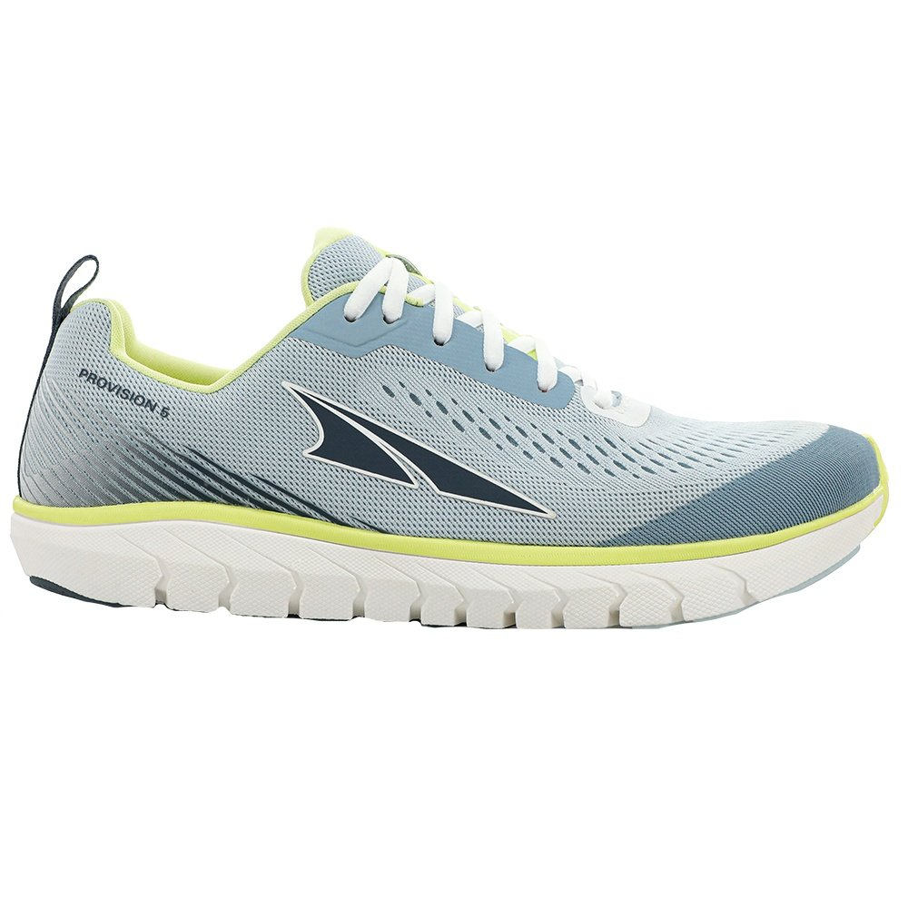 Altra Provision 5 Running Shoe (Women's) - Light Blue/Lime