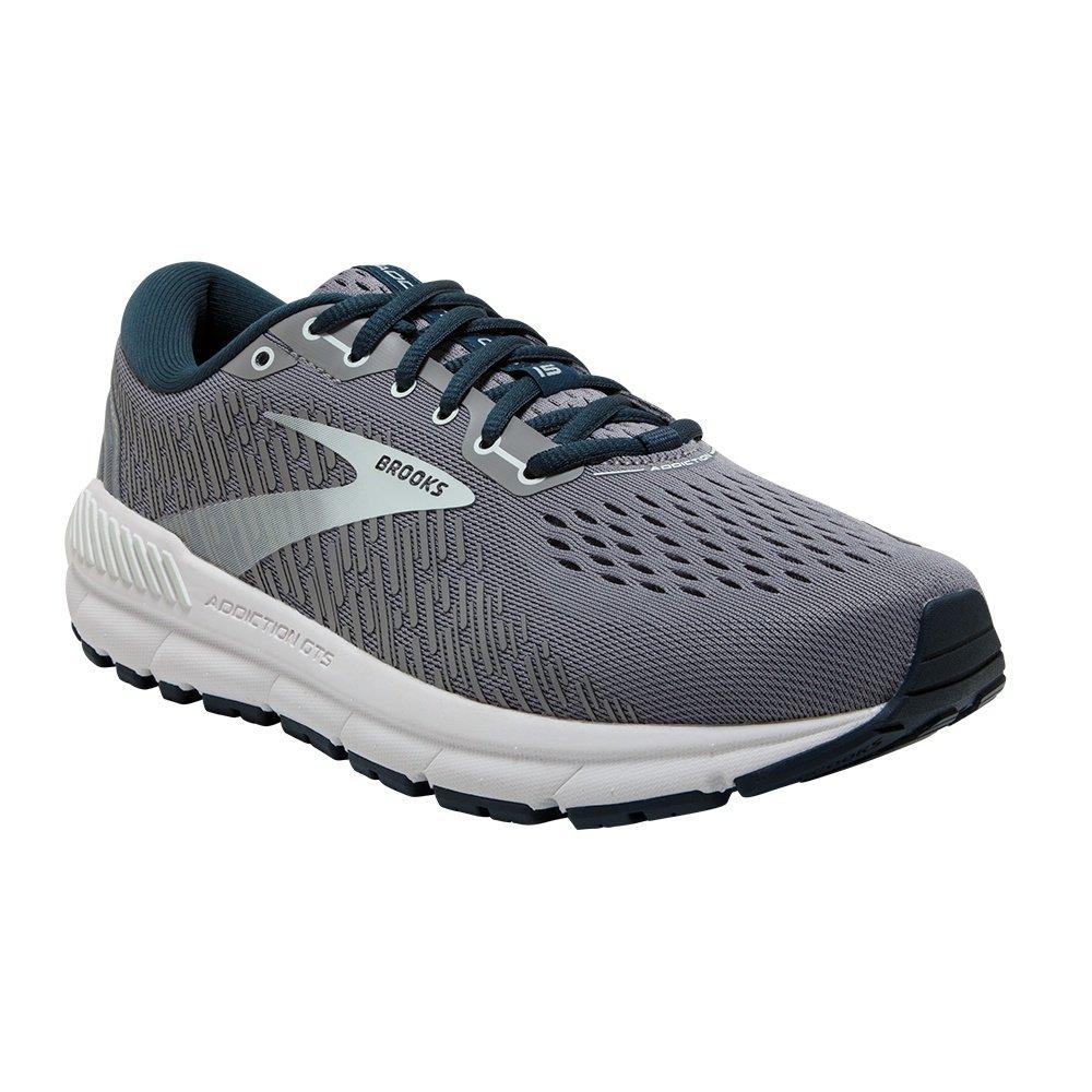 Brooks Addiction GTS 15 Running Shoe (Women's) - Grey/Navy/Aqua