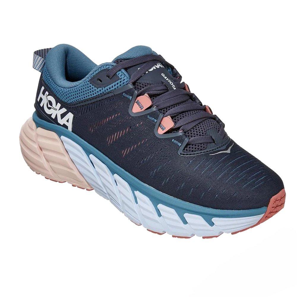 Hoka One One Gaviota 3 Wide Running Shoe (Women's) - Ombre Blue/Rosette