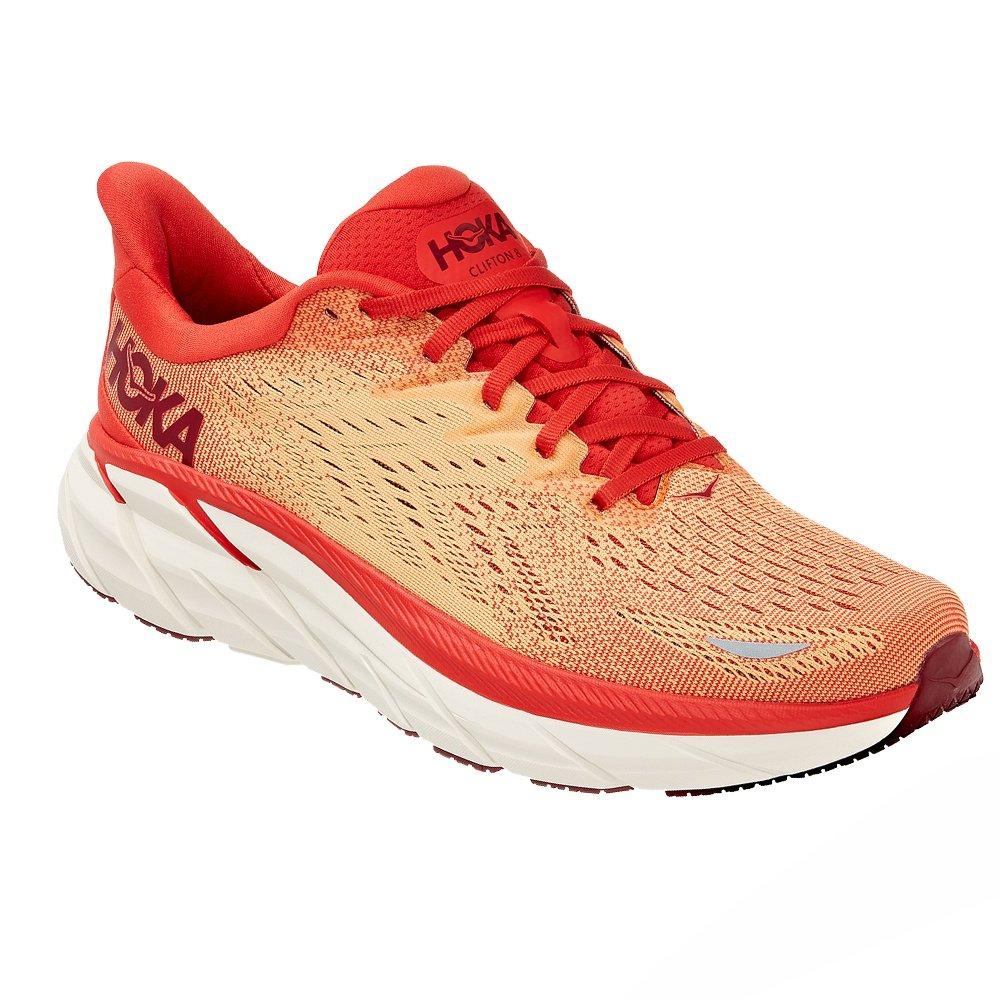 Hoka One One Clifton 8 Running Shoe (Men's) - Fiesta/Blazing Orange