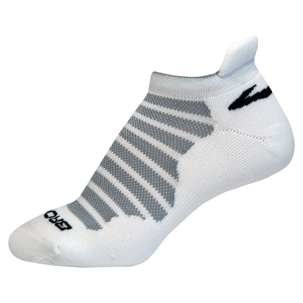 Brooks Glycerin Ultimate Cushion Sock (Adults') - White