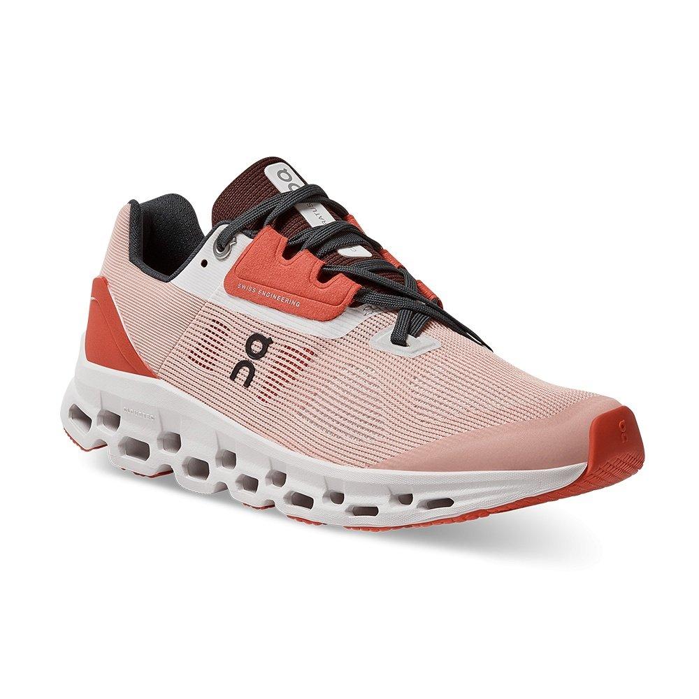 On Cloudstratus Running Shoe (Women's) - Rose Red/Denim