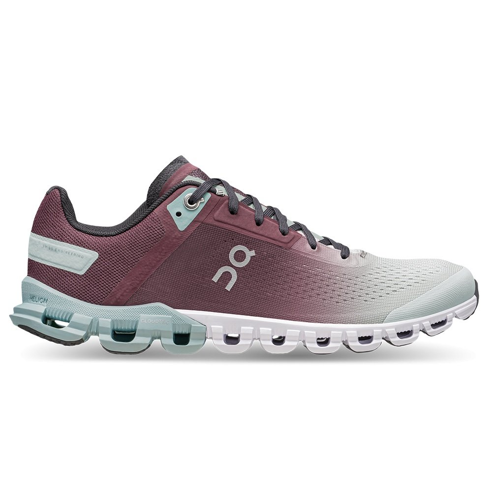 On Cloudflow Running Shoe (Women's) - Mulberry/Mineral