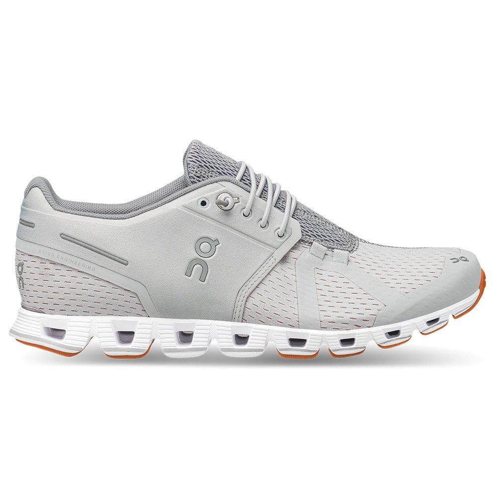On Cloud Running Shoe (Women's) - Glacier/White