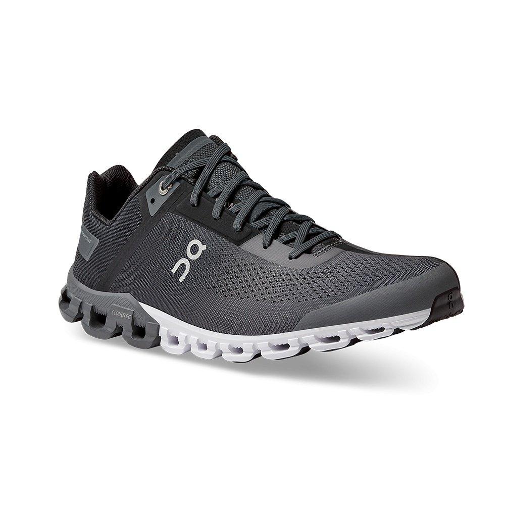 ON Cloudflow Wide Running Shoe (Men's) - Black/Asphalt