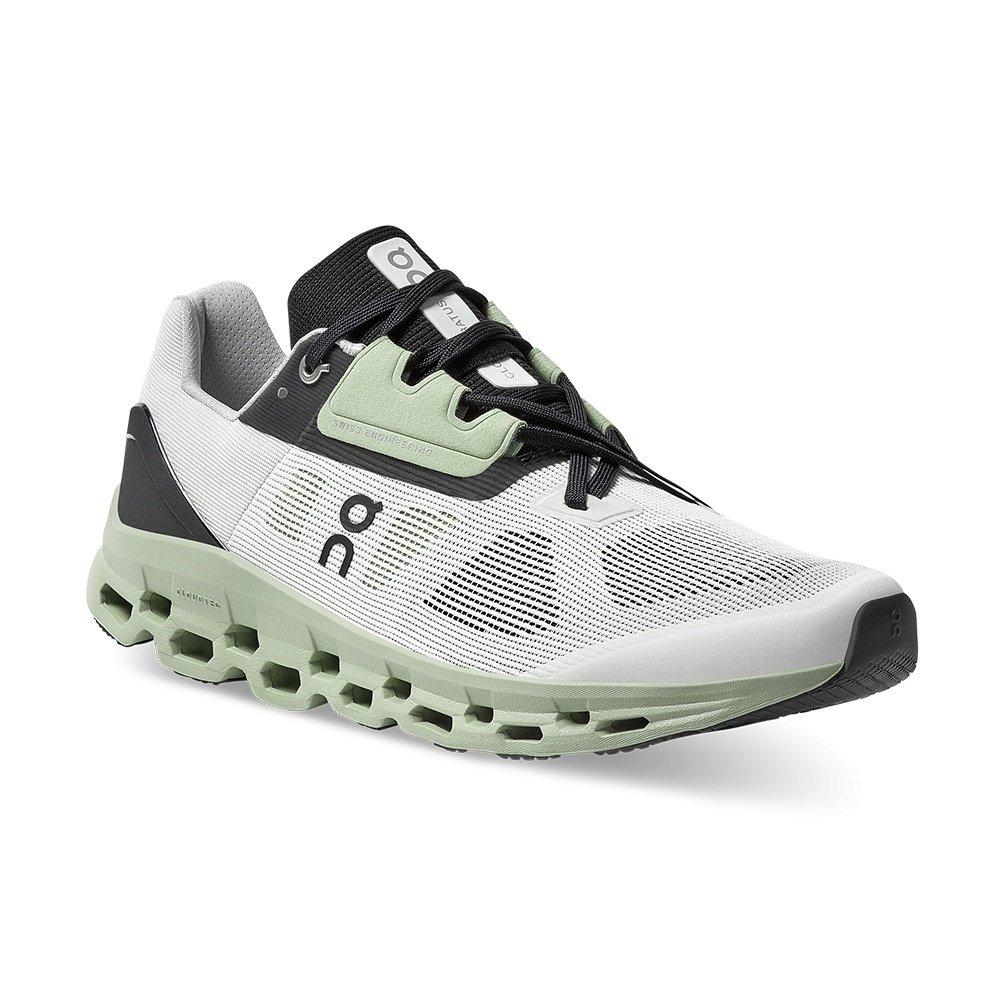 ON Cloudstratus Running Shoe (Men's) - White/Black