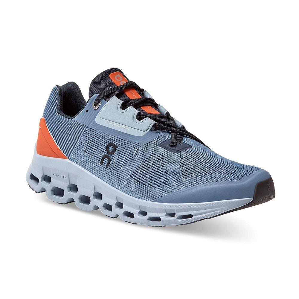 ON Cloudstratus Running Shoe (Men's) - Lake/Flare