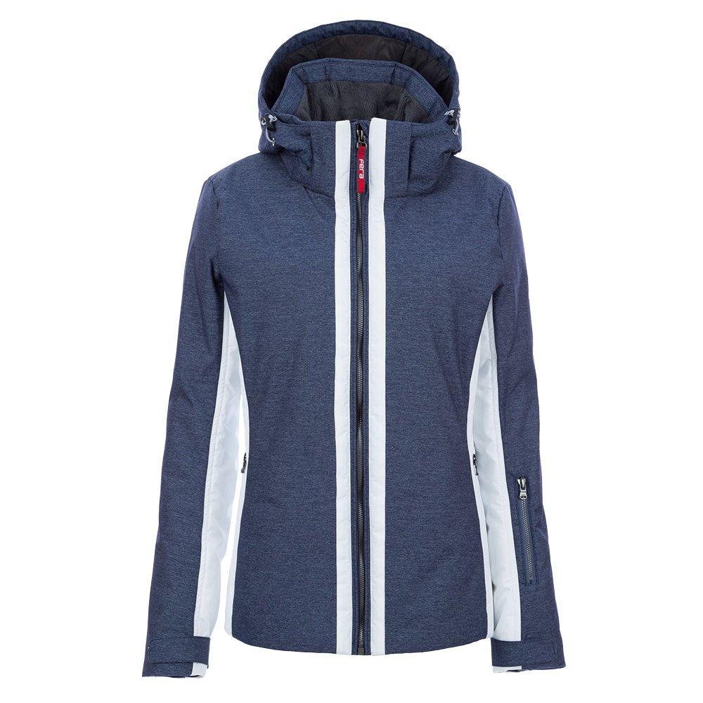 Fera Kendall Insulated Ski Jacket (Women's) - Denim/White Cloud