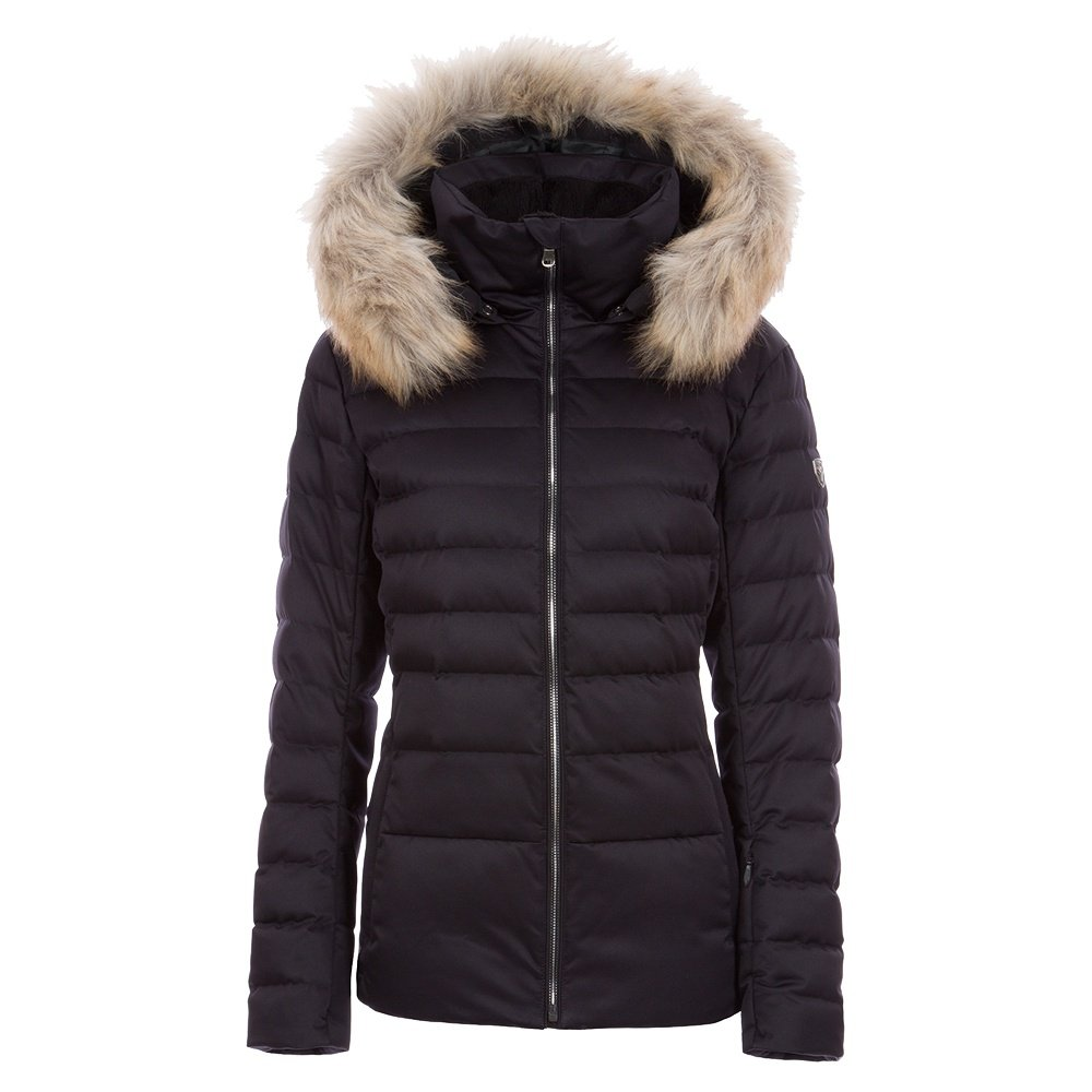 Fera Julia Down Ski Parka with Faux Fur (Women's) - Black