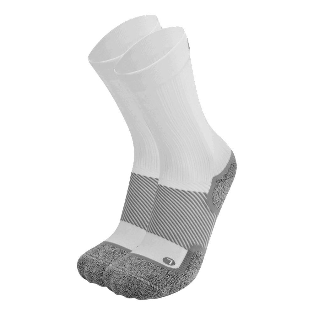 0S1st WP4 Wellness Performance Crew Sock (Men's) - White