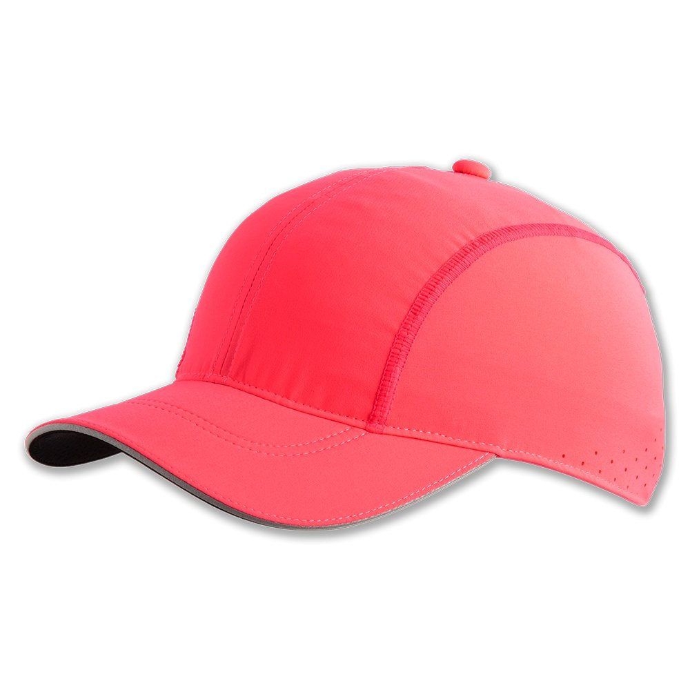 Brooks Chaser Running Hat (Adults') - Fluoro Pink