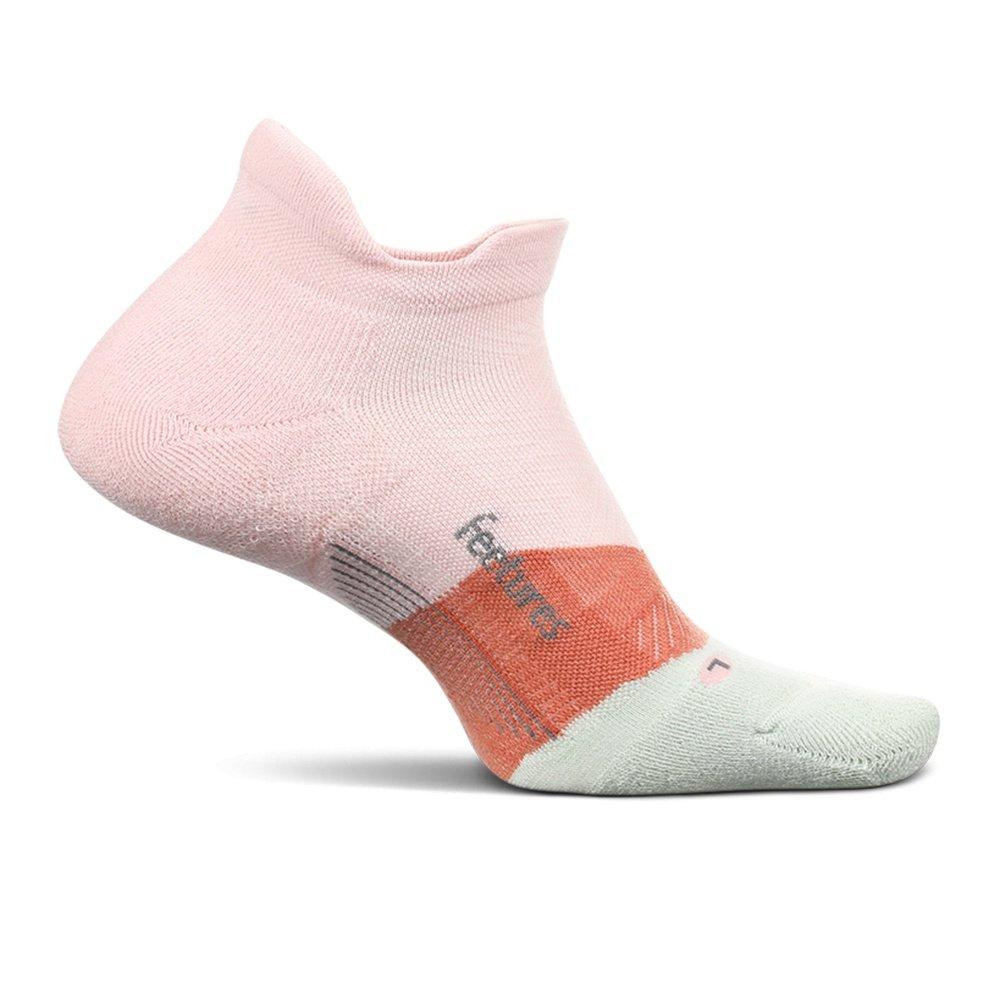Feetures Elite Ultra Light Cushion No Show Tab Running Socks (Adults') - Blush