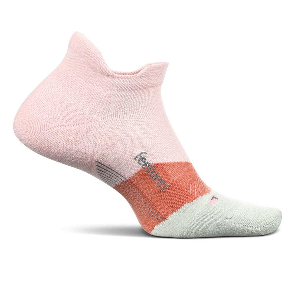 Feetures Elite Max Cushion No Show Tab Running Sock (Adults') - Blush