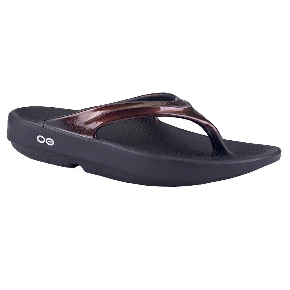 OOfos Oolala Luxe Sandal (Women's) - Cabernet