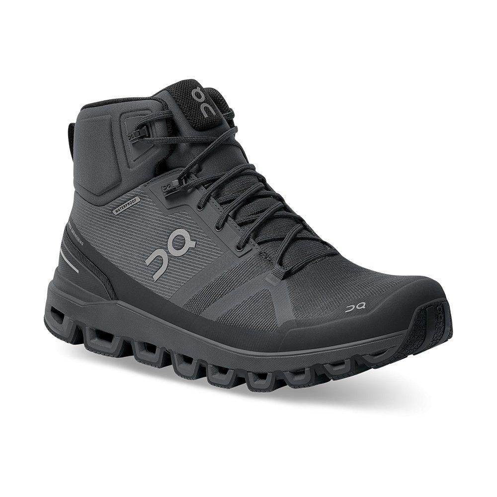ON Cloudrock Waterproof Trail Running Shoe (Men's) - Rock/Eclipse