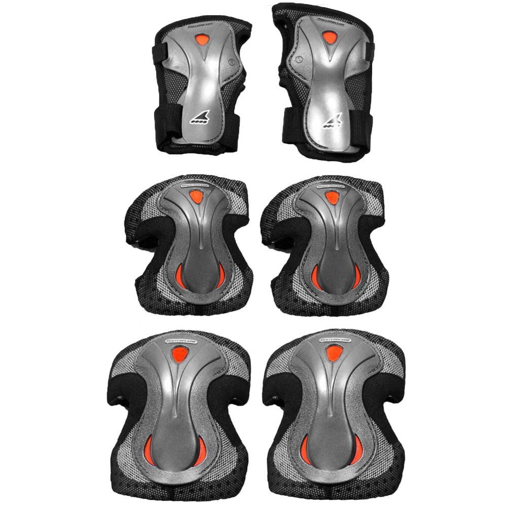 Rollerblade Lux Plus 3-Pack Wrist, Elbow, and Knee Pads (Women's) -
