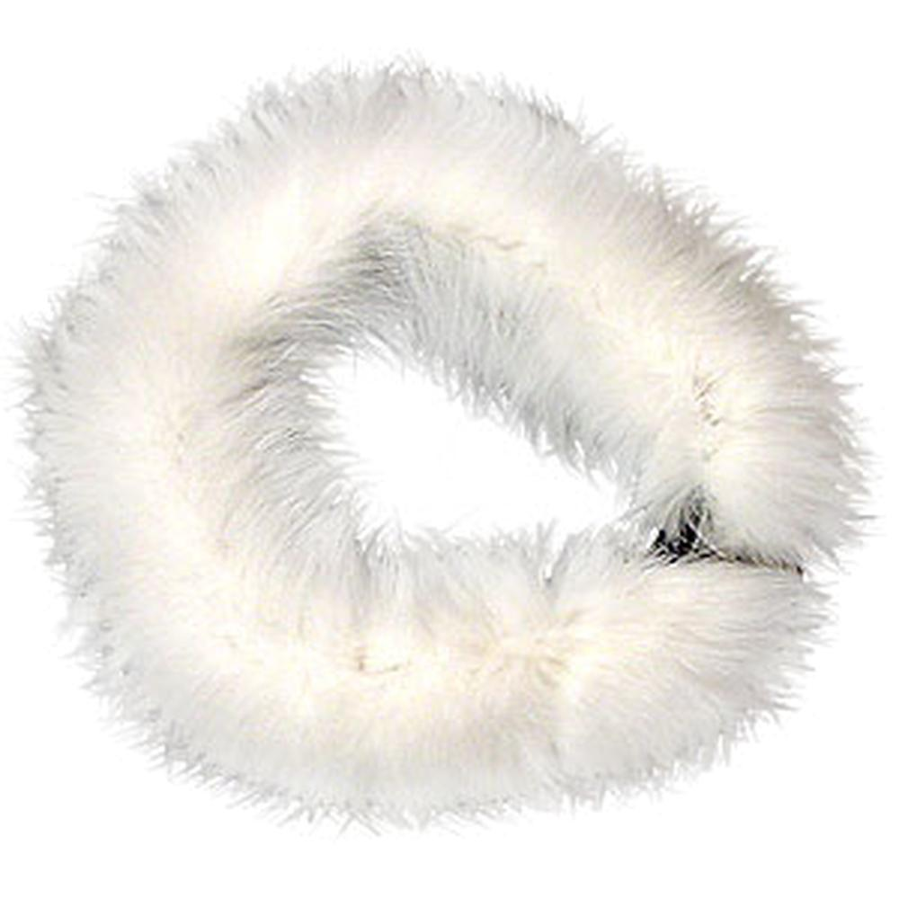 Peter Glenn Fox Fur Headband (Women's) - White