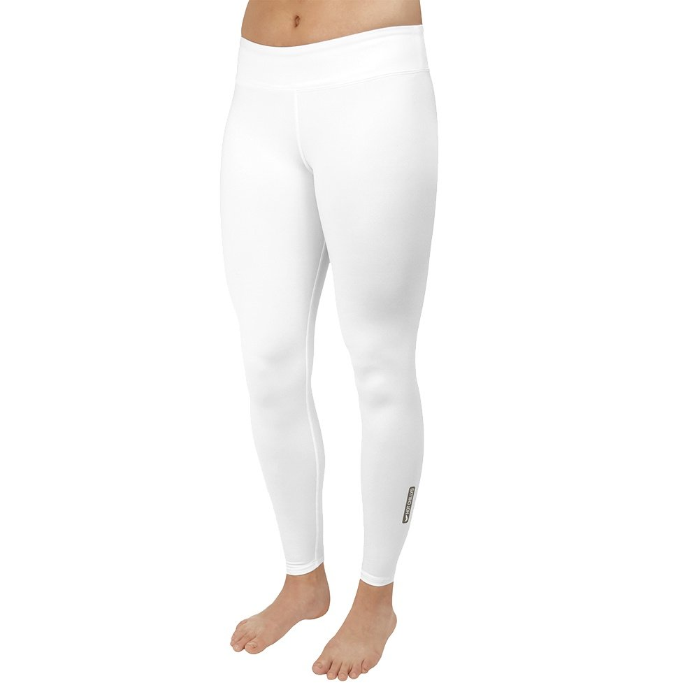 Hot Chillys Micro-Elite Low Rise Baselayer Tight (Women's) - White
