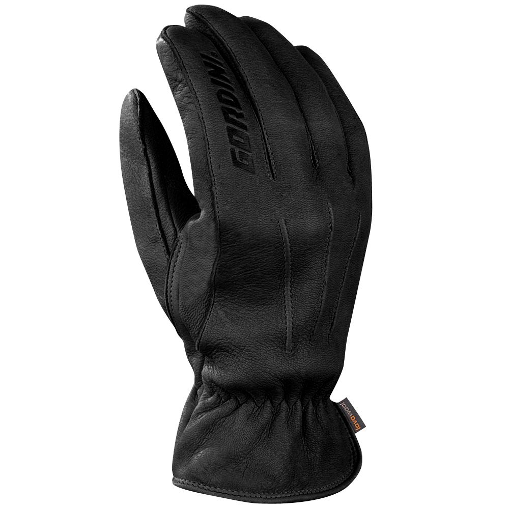 Gordini Deerskin Lavawool Gloves (Men's) - Black