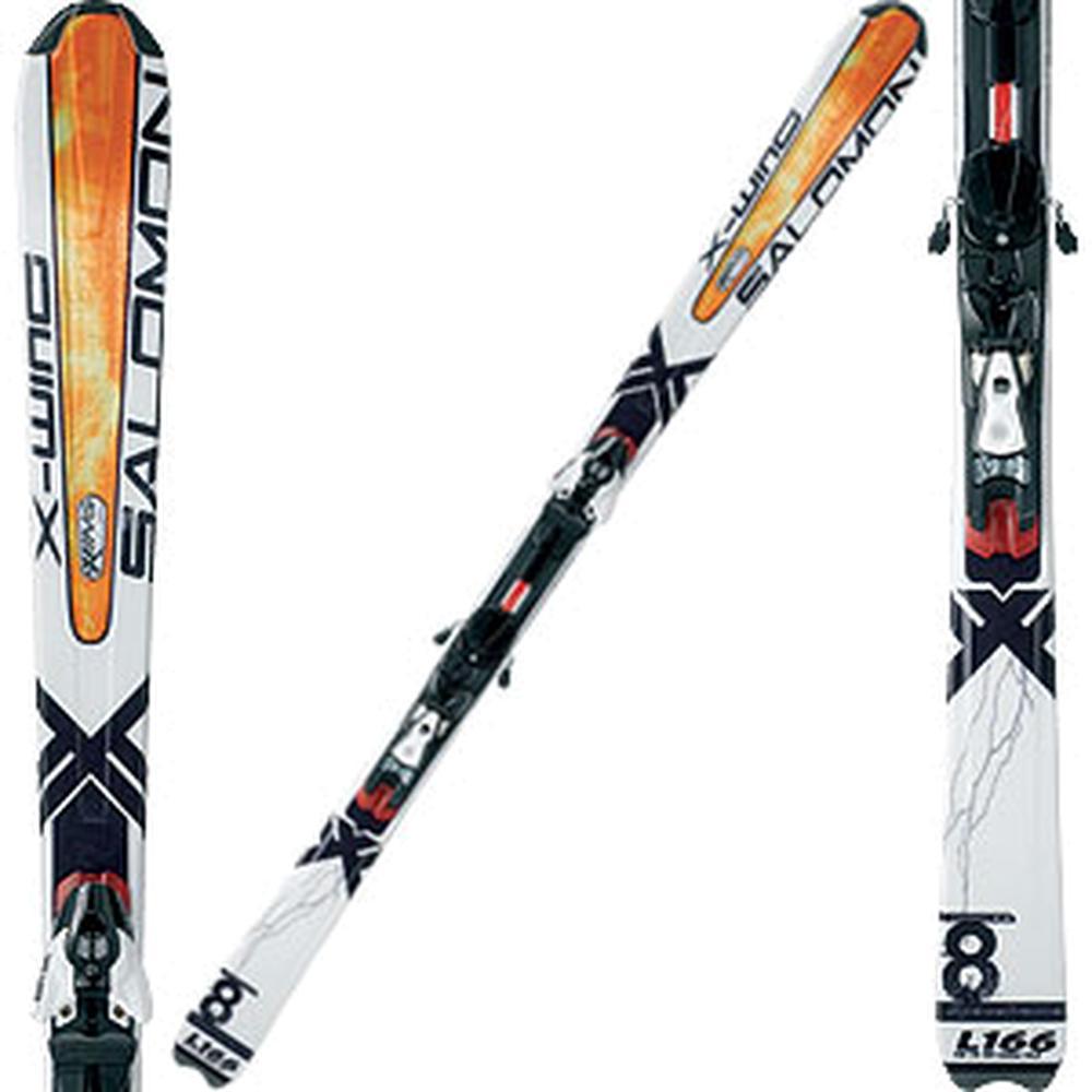 Salomon X-Wing 8+711 Ski System With Salomon Bindings