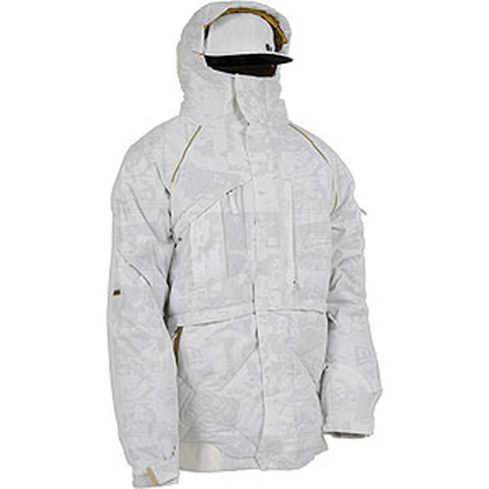 686 Times New Era History Down Snowboard Jacket Mens