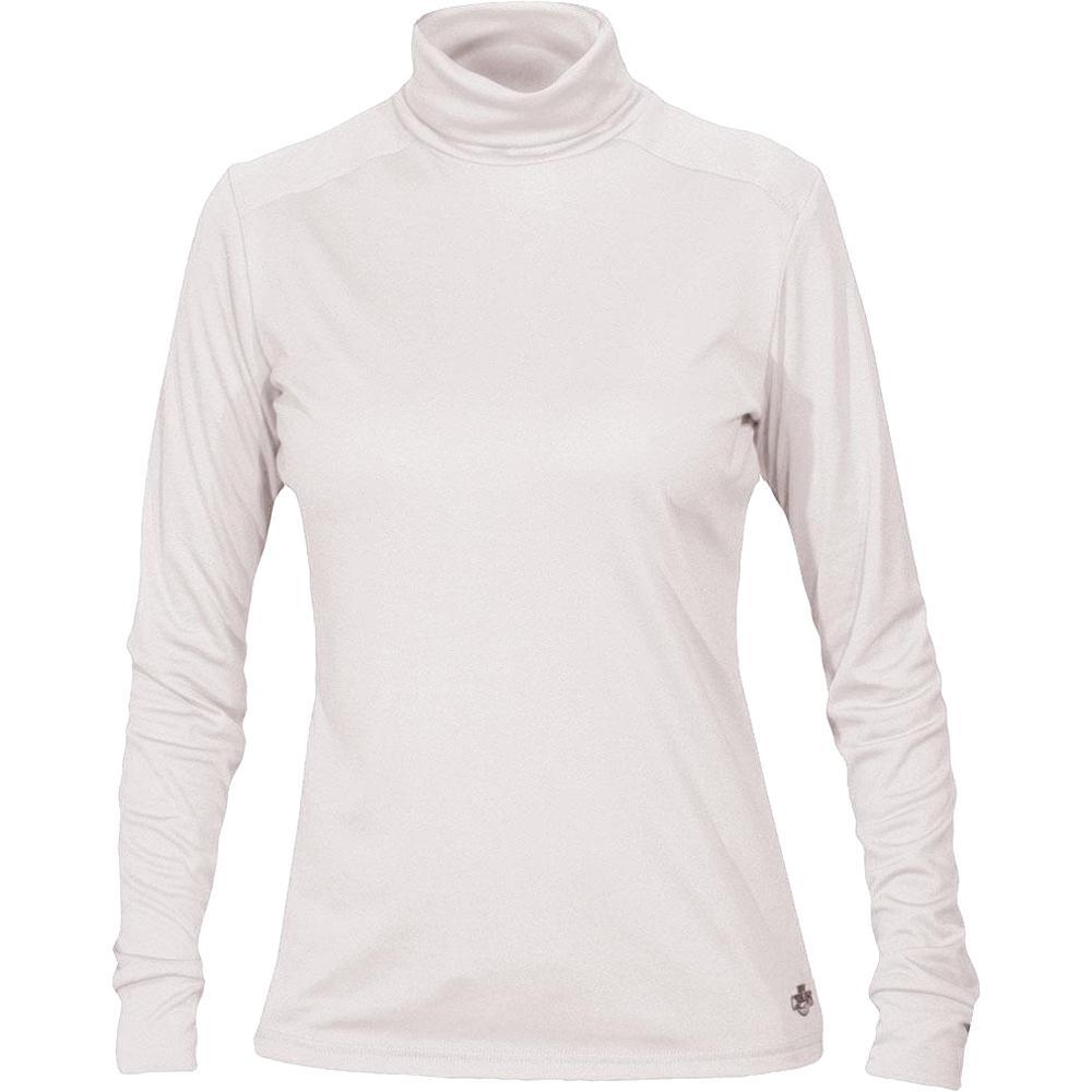 Hot Chillys PeachSkin Roll Down Turtleneck (Women's) - White