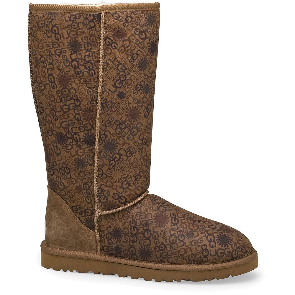 Ugg Classic Tall Logo Winter Boots (Women's) | Peter Glenn