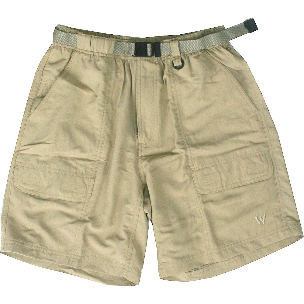 White Sierra UPF 30 Protection Safari Shorts (Men's) | Peter Glenn