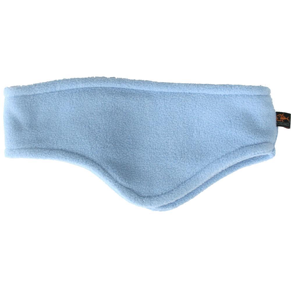 Screamer Shaped Fleece Headband (Unisex) - Powder Blue
