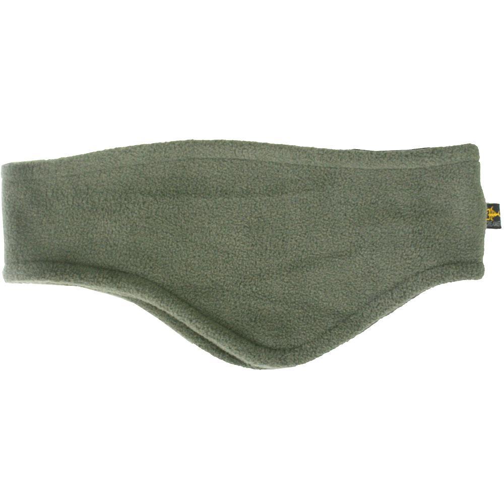 Screamer Shaped Fleece Headband (Unisex) - Fatigue