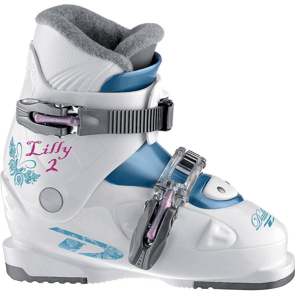 Dalbello Lily 2 Ski Boot (Little Girls') - White/Storm