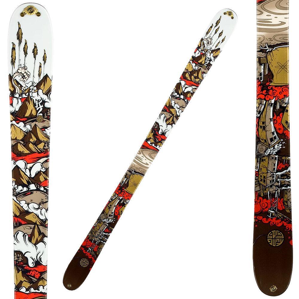 K2 Kung Fujas Twin-Tip Skis