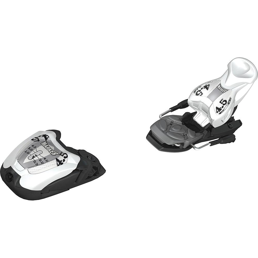 Marker M 4.5 EPS Ski Binding (Kids') - White/Black