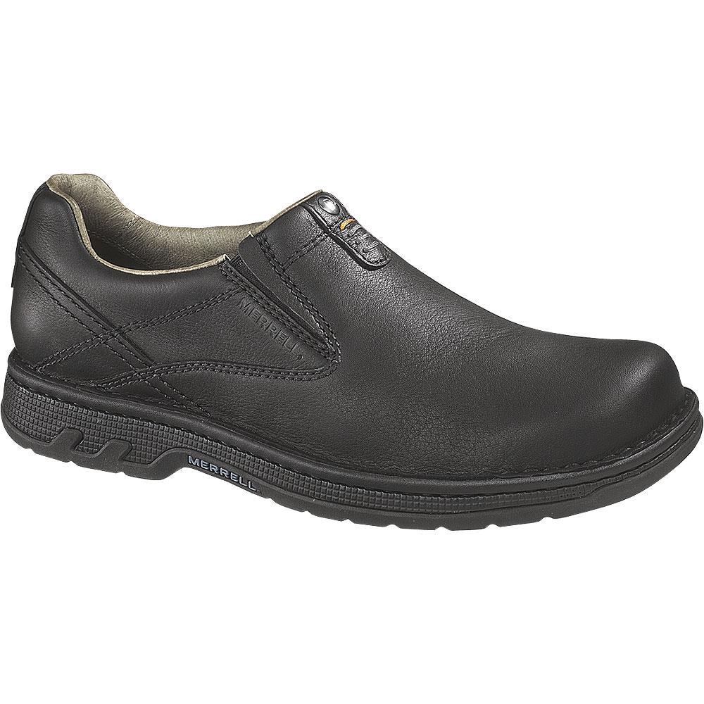 Merrell Black Mens Work Shoes