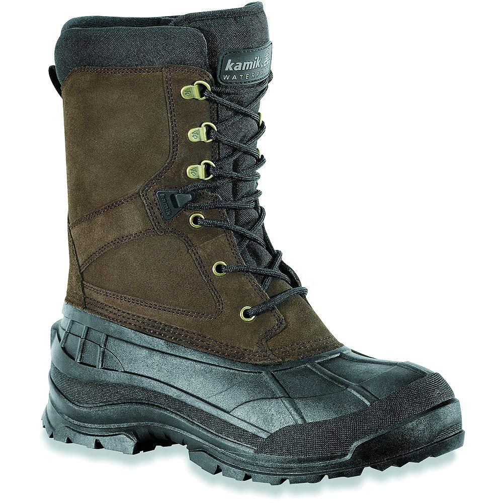Kamik Nationwide Winter Boots (Men's) - Dark Brown