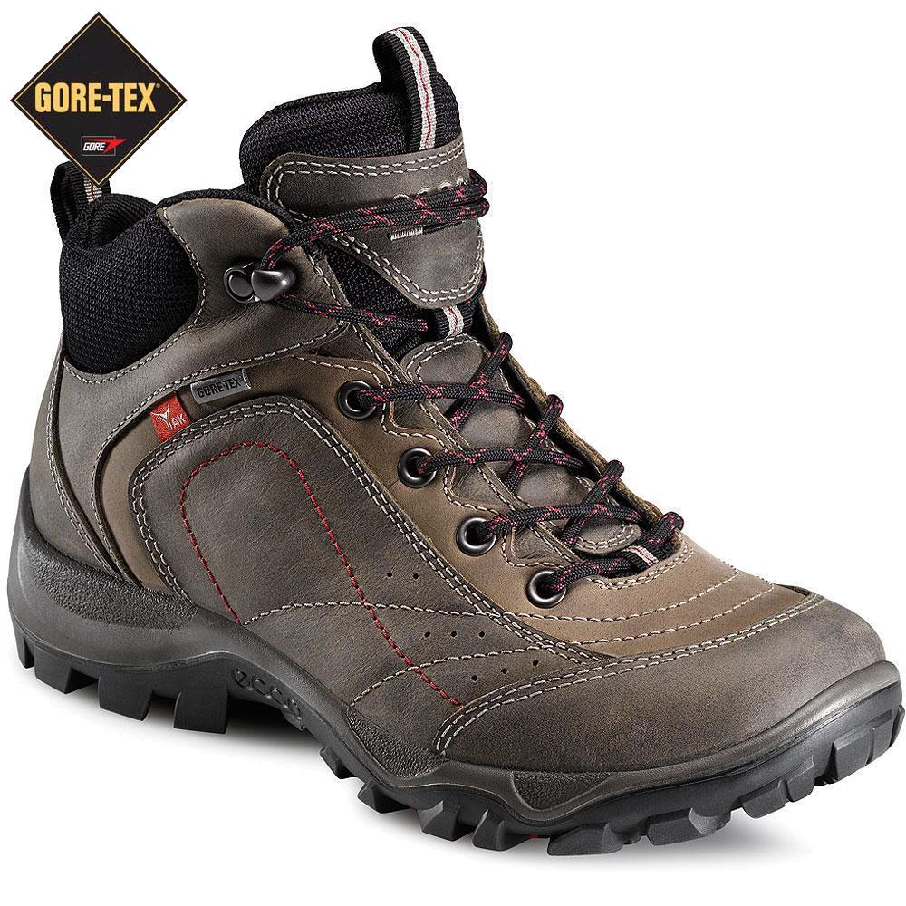 ecco gore tex hiking boots women's