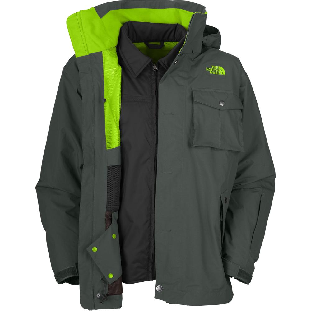 the north face mechanic triclimate 4 in 1 ski jacket men. Black Bedroom Furniture Sets. Home Design Ideas