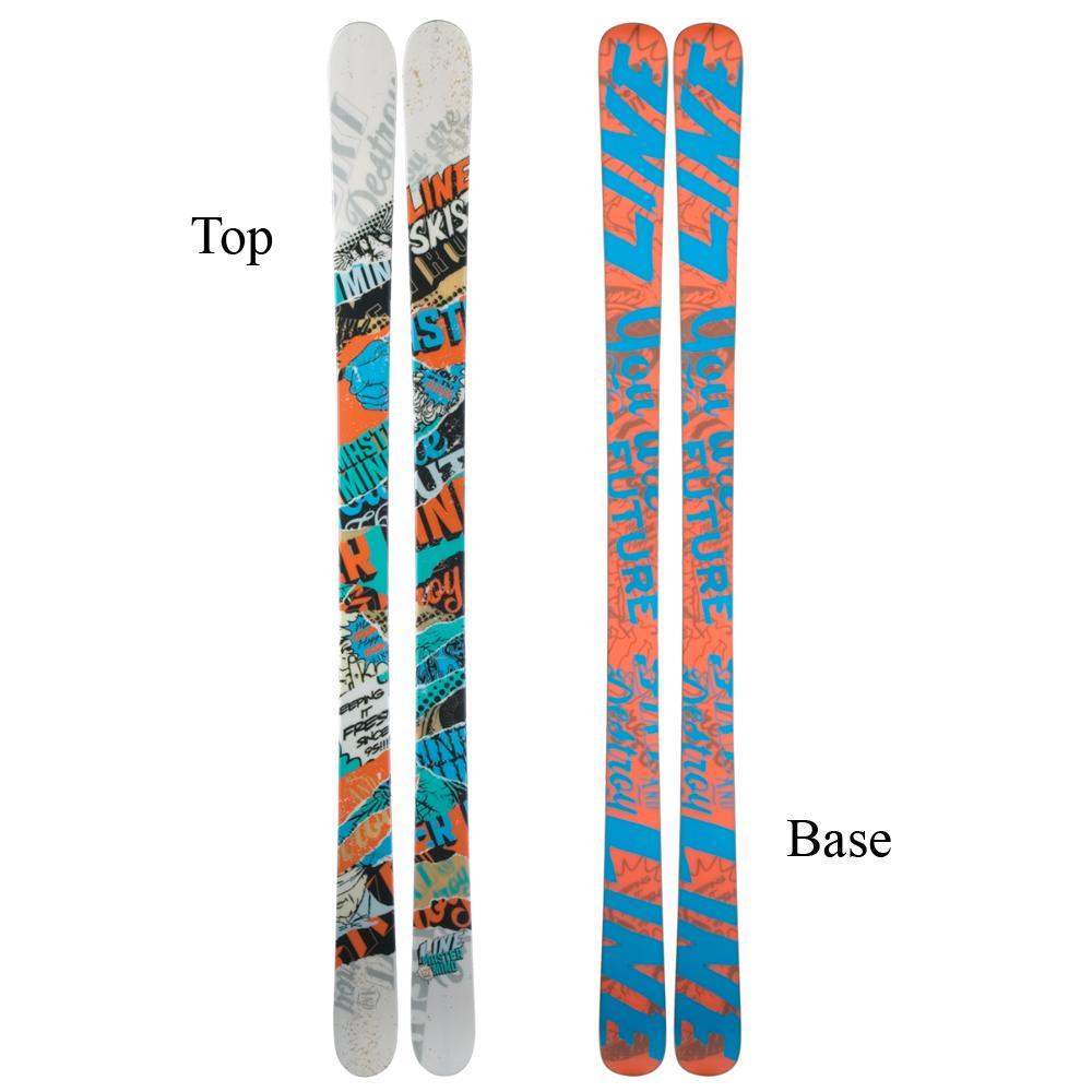 Line Celebrity 90 Womens Skis 2011
