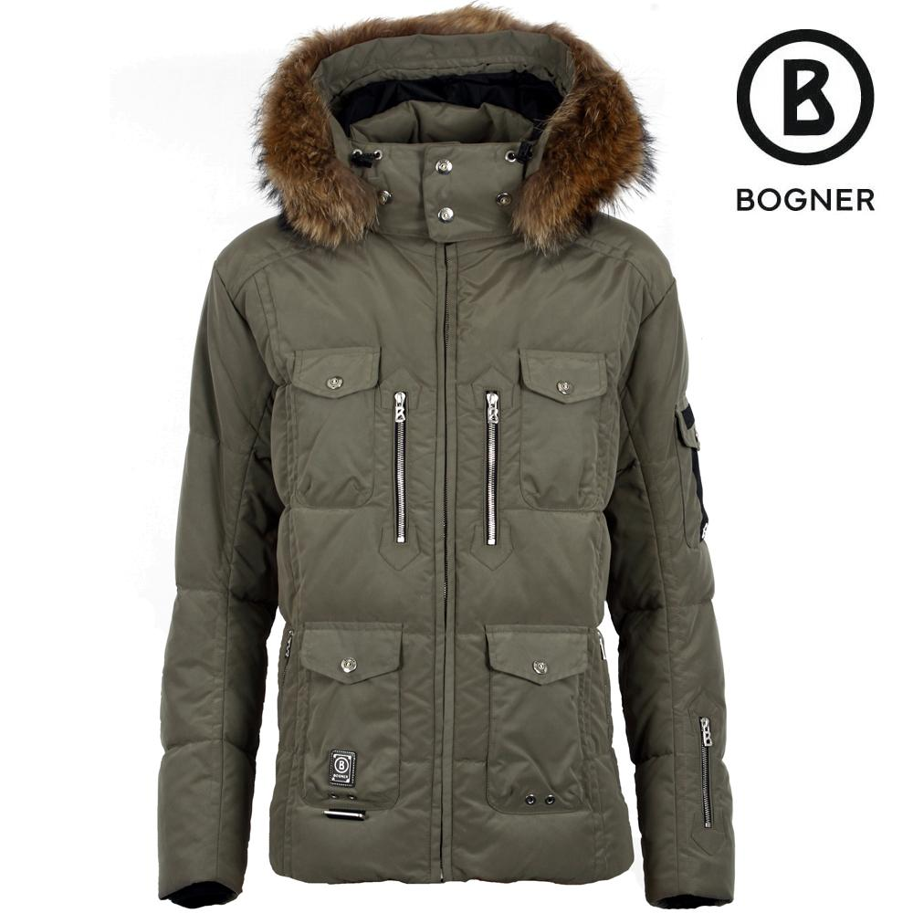 Bogner Polar D Down Ski Jacket With Fur Men S Peter Glenn