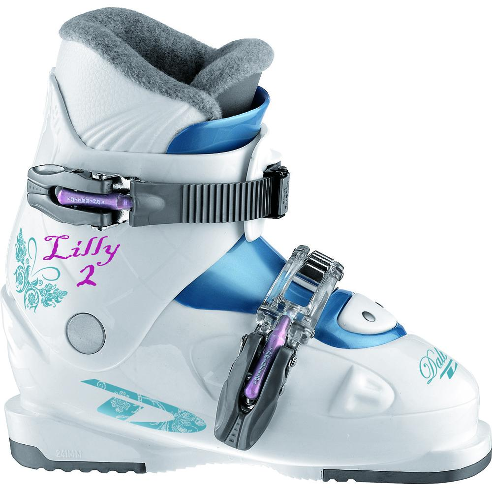 Dalbello Lily 2 Ski Boot (Kids') - White/Storm