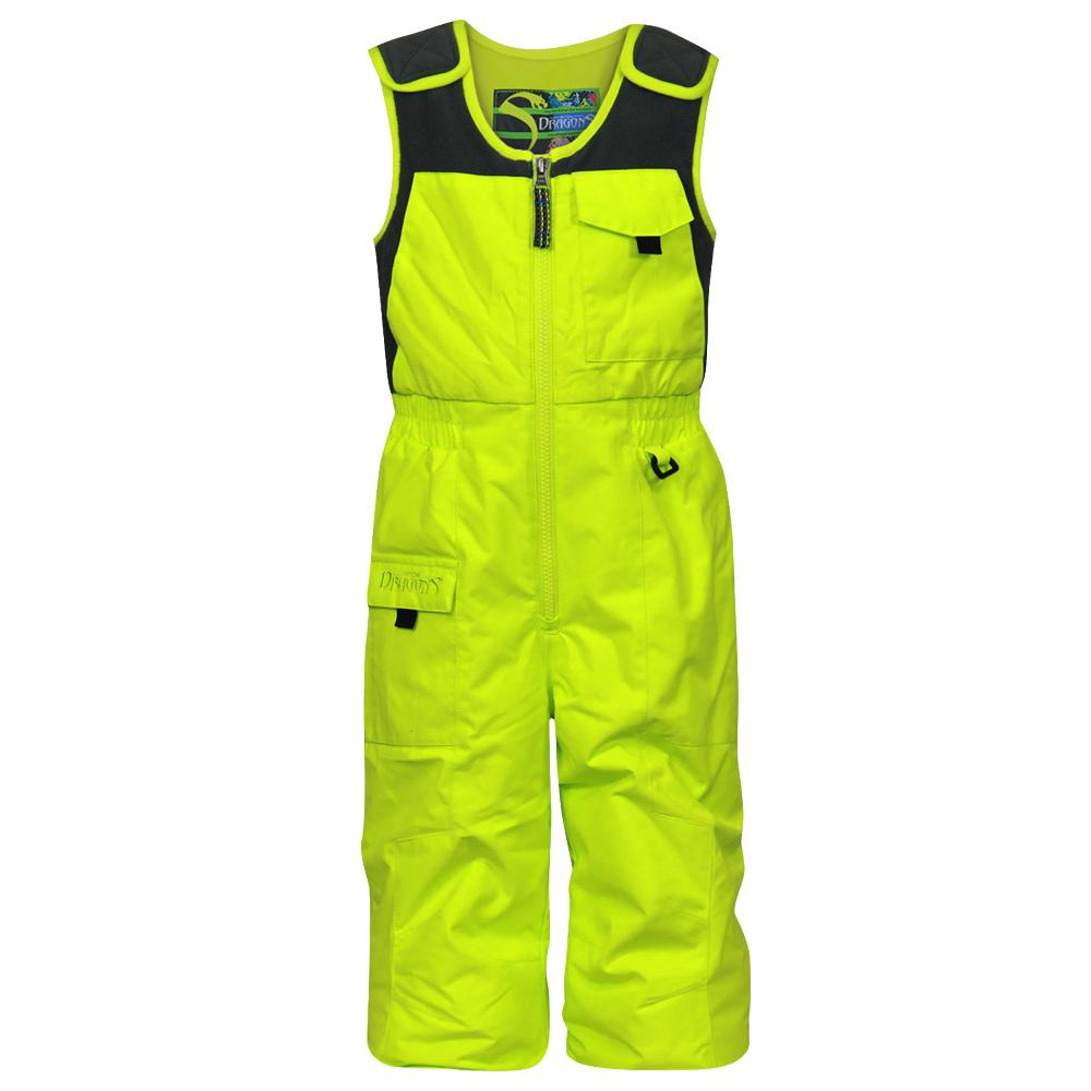 Snow Dragons Nestor Ski Bib (Toddler Boys') - Lime Blast
