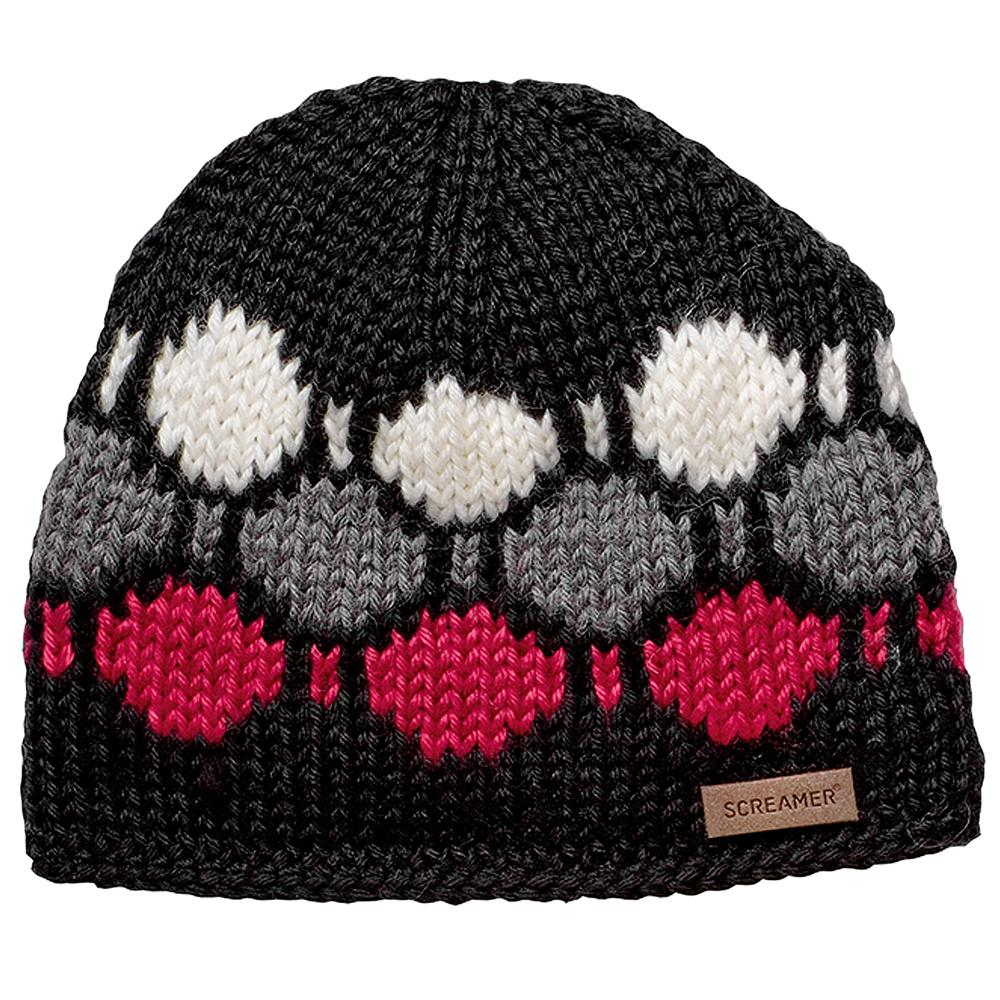 Screamer Oval Beanie (Men's) - Black