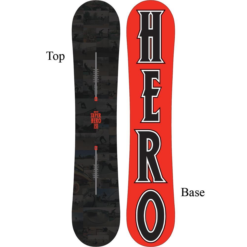 burton super hero early release 2013 snowboard mens