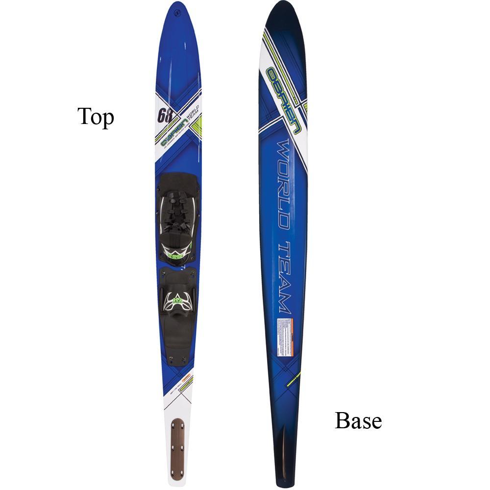 "O'Brien World Team 68"" Slalom Waterski With X-9 Bindings"