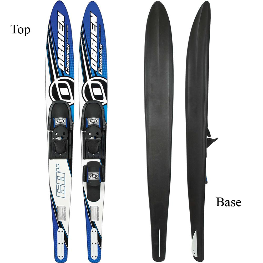 Blue OBrien Celebrity Combo Water Skis with x-7 Bindings 68