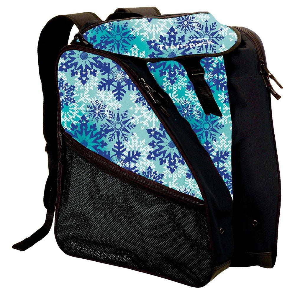 Transpack XTW Boot Bag (Women's) - Teal Snowflake